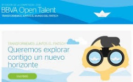 BBVA Open Talent 2016: a gateway to international success for startups