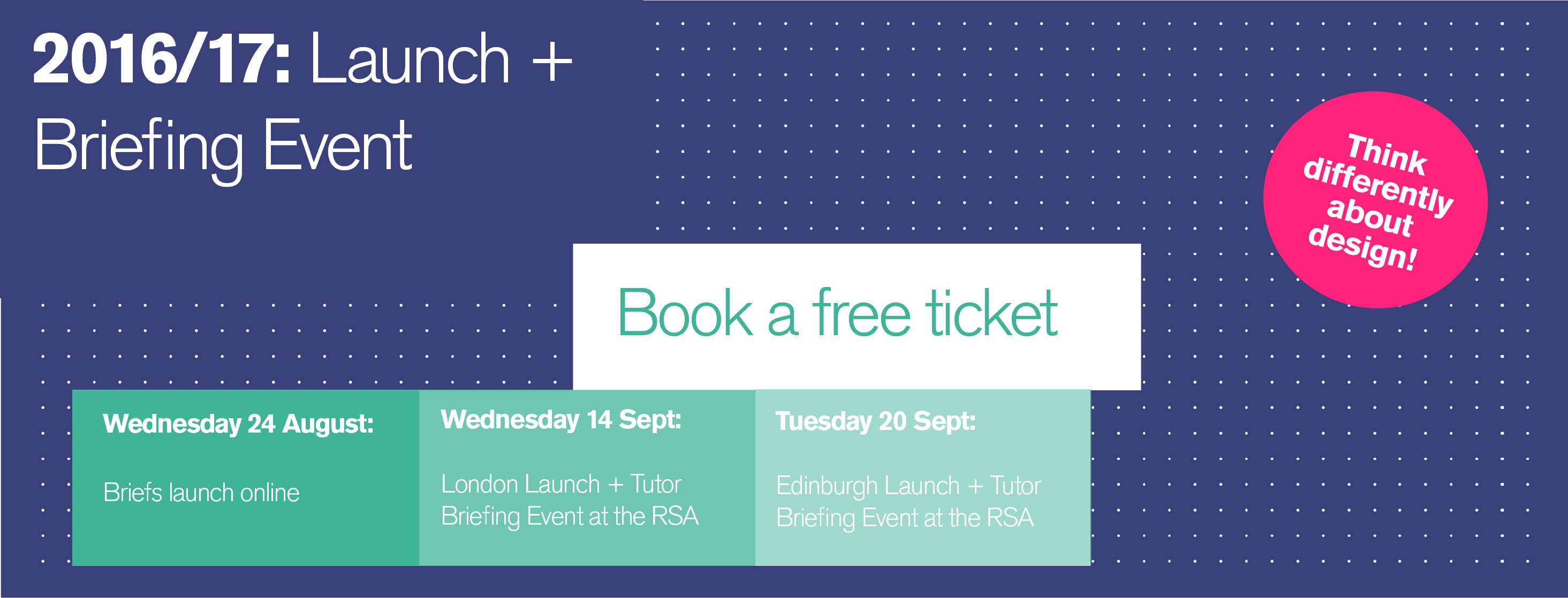 2016-17 Launch + Tutor Briefing Events in London and Scotland