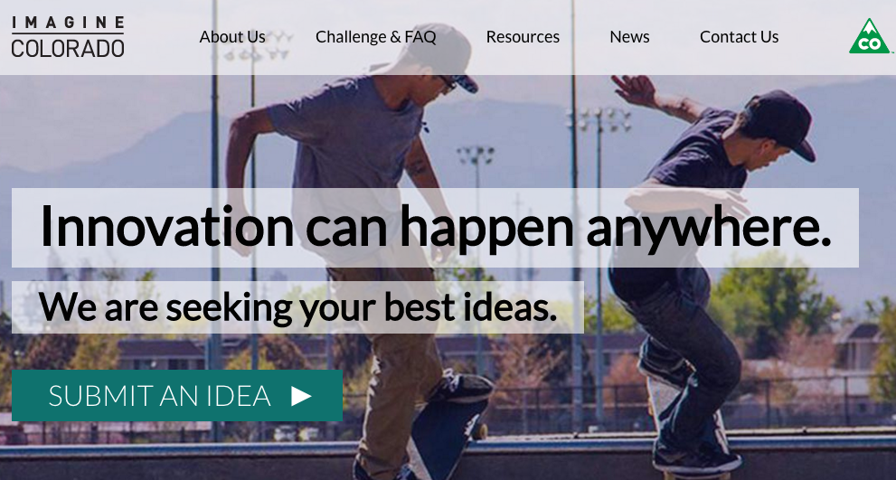 Colorado launches first-ever statewide open innovation challenge