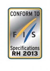 FIS Helmet Sticker