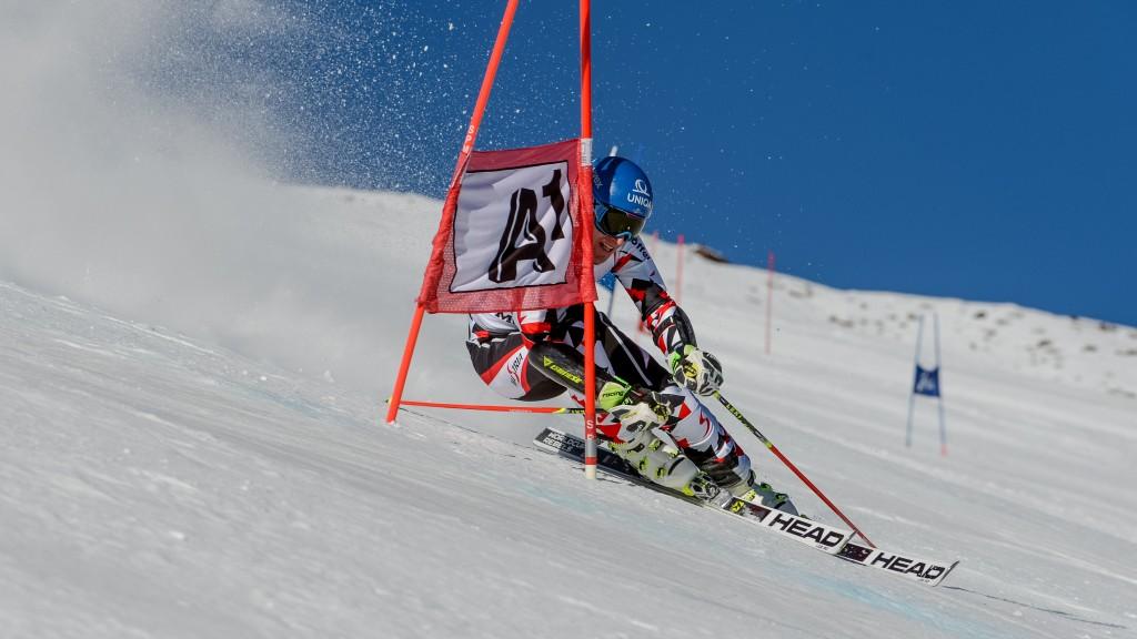 SANKT LEONHARD,AUSTRIA,28.SEP.15 - ALPINE SKIING - OESV, Oesterreichischer Ski Verband, giant slalom training, men. Image shows Matthias Mayer (AUT). Keywords: Pitztaler Gletscher. Photo: GEPA pictures/ Oliver Lerch