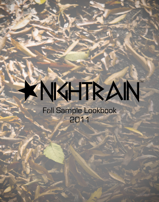 Fall 2011 Lookbook Cover