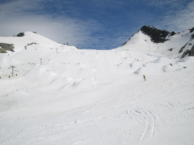 Blackcomb Glacier in July