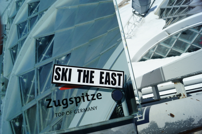 Ski the East on Zugspitze