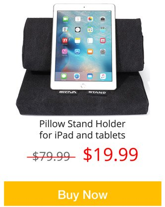 Pillow Stand Holder for iPad and tablets