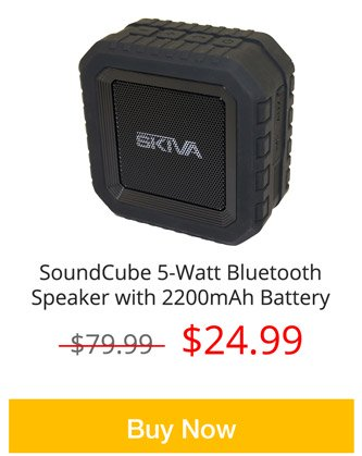 SoundCube Bluetooth Speaker