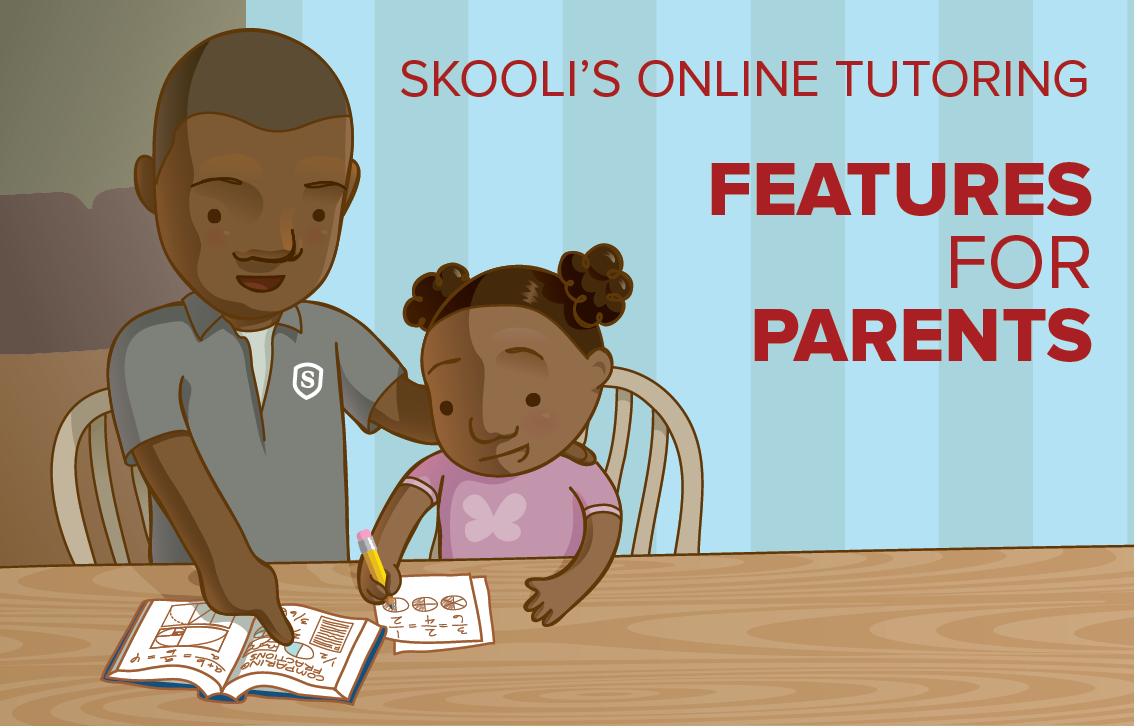 skooli online tutoring parent features