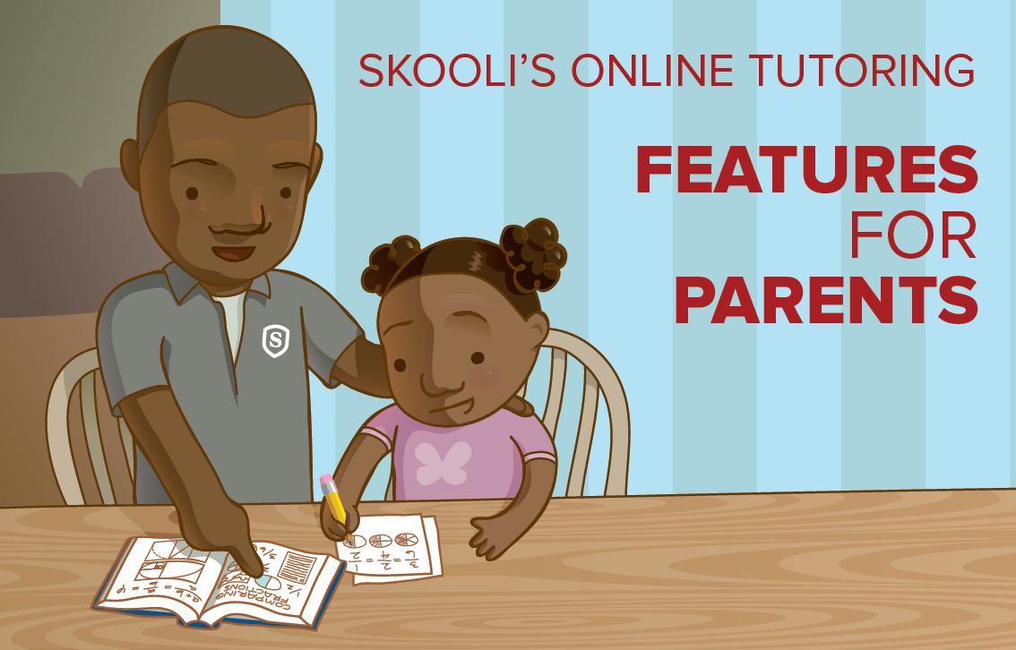 skooli online tutoring parent features