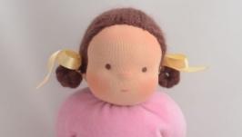 Вальдорфская кукла для малыша, первая кукла