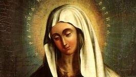 Икона Божией Матери «Умиление», под старинную!