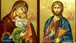 Венчальные иконы в византийской технике в наличии