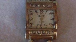 Часы из бисера