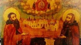 «Икона Преподобных Зосимы и Савватия»ПОКРОВИТЕЛИ ПЧЕЛОВОДОВ!!!
