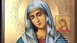 Икона Божьей Матери «Умиление» 18х24