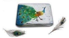 Шкатулка «Дивная птица» ручная роспись