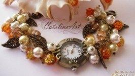 Часы «Карамель»