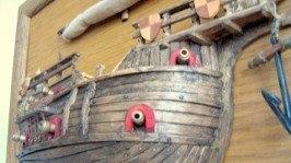 Модель парусника «Когг крестоносцев»
