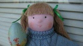 «»Авторская текстильная кукла Лада