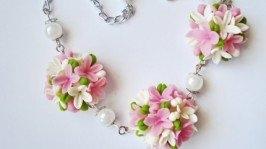 «цветочный браслет»