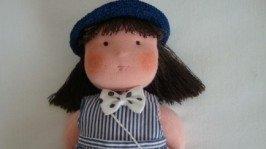 «»Текстильная кукла Аришка