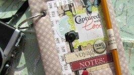 Travel book. Блокнот для записей в путешествии