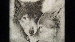 Фляга «Волки»