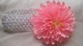 Повязка «Рожева хризантема