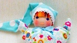 Вальдорфська лялька-метелик