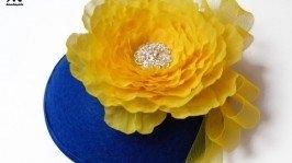 Капелюшок «Синьо-жовтий»