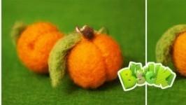 Серьги «абрикоски»