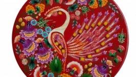 Декоративна тарілка «Казкова птаха»
