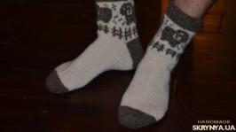 «Мужские шерстяные носки с овечками»