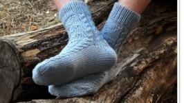 «Мужские носки Gray-blue»