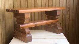Лавка-скамья «Лесная сказка»