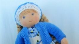Вальдорфская кукла «Незабудка»