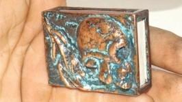 Спичечный коробок Череп