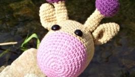 Жираф погремушка Варюша
