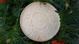Декоративна тарілка «Пшеничне перевесло»