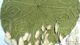 Берет «Листья»