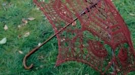 Зонтик вязаный крючком Марсал