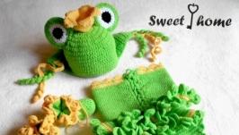 Комплект для фотосессии Царевна-лягушка