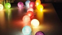 Тайские волшебные фонарики