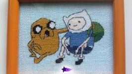 Картина «Фин и Джейк» из Время приключений