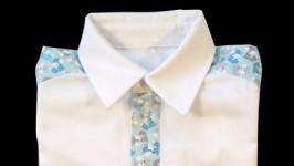 Рубашка WhiteBlue Foxes для мальчика
