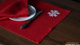 Салфетки под тарелки Зимние