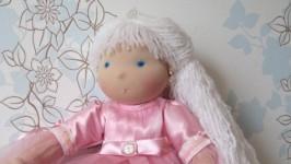 Кукла эксклюзивная ручной работы, по мотивам вальдорфской куклы