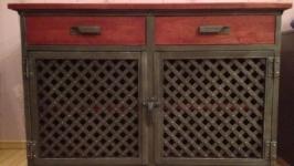 Тумба,косоль в стилі лофт індастріал