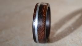 Кольцо с металлом