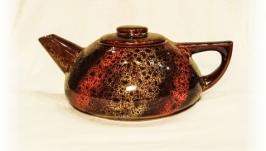 Чайник великий, декор дзиґа