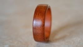 Кольцо из ценной древесины - балау бангкирай.